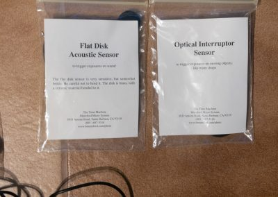 Flat Disc Acoustic Sensor
